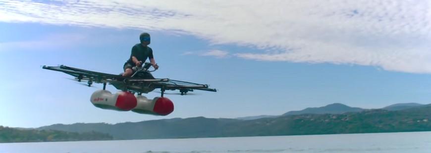 Les plus riches de ce monde ont certainement trouvé le nouveau loisir à la mode avec le Kitty Hawk Flyer