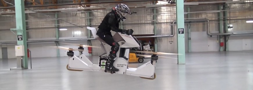 Un moto volante pour la police de Dubaï