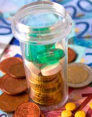 La franchise médicale pour les médiacaments est de 0,50€