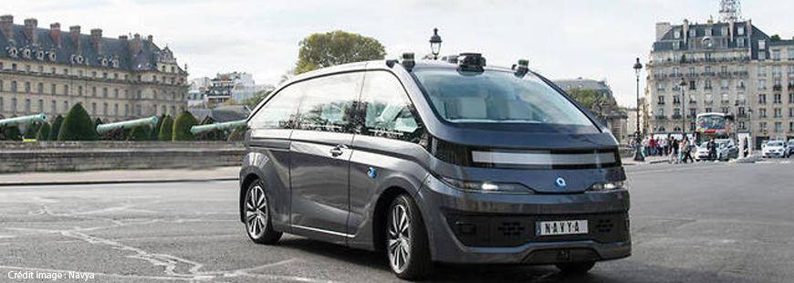L'« Autonom Cab » de Navya devrait circuler à Lyon