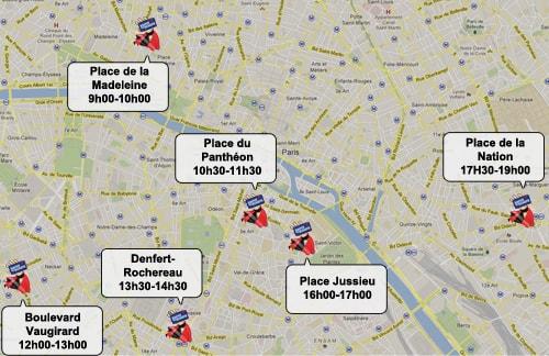 """Opération """"Sauve tes doigts"""" dans la capitale"""