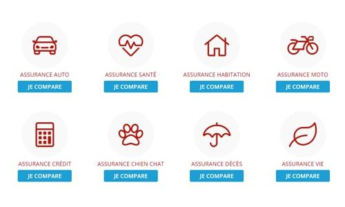 Comparez les assurances sur Assurland.com!