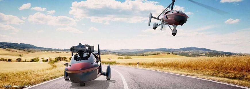 La « Liberty », une voiture qui se transforme en hélicoptère