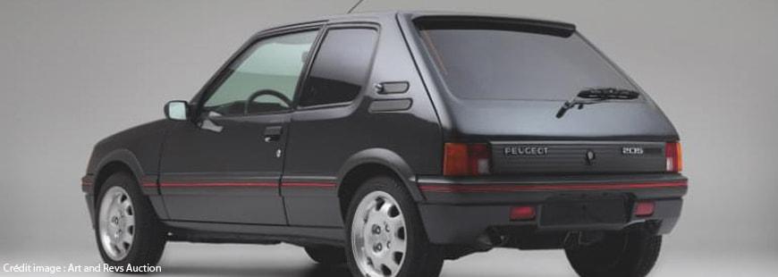 Cette Peugeot 205 GTI est vendue 30 000 €