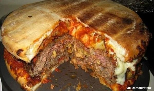pizza-cheeseburger