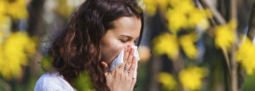 Protégez-vous du pollen !