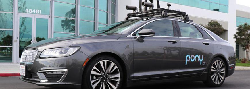 Pony.ai  souhaite développer une plate-forme automobile de niveau d'autonomie 4