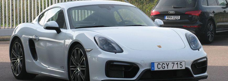 La Porsche Cayman