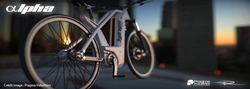 Alpha, le vélo de Pragma Industries, a une autonomie de 150 kilomètres