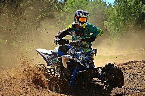 Le quad est souvent utilisé pour la course ou la compétition
