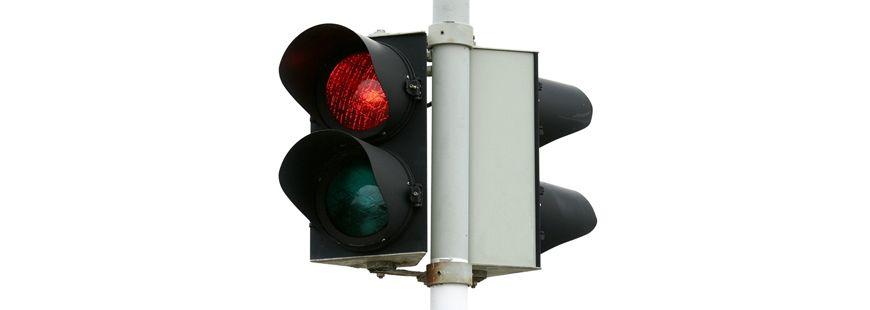 Radar feu rouge : combien de points retirés sur le permis ?