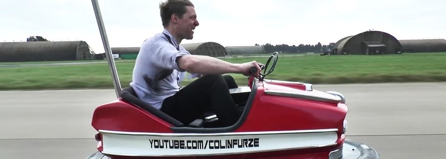 Record de vitesse en auto-tamponneuse : 160 km/h