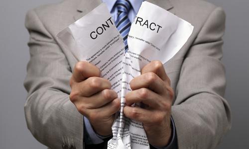 contrat-dechire-resiliation