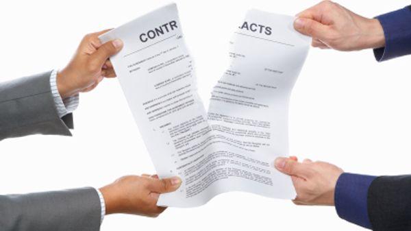Resiliation-rupture-contrat