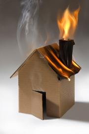 Risque d'incendie dans un logement