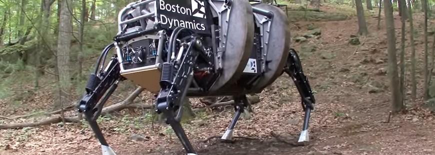 Le dernier robot de Boston Dynamics laisse bouche bée