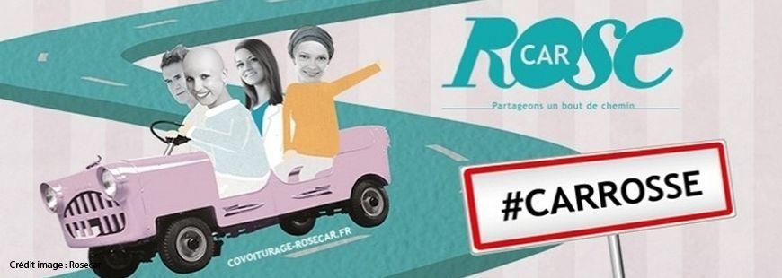 RoseCar, le covoiturage vers l'hôpital entre malades