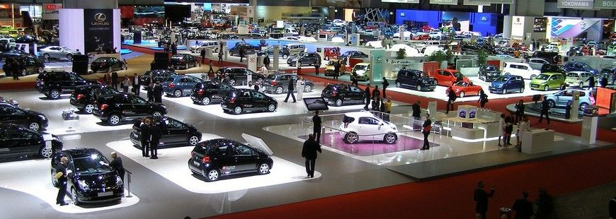 Le salon auto de Francfort