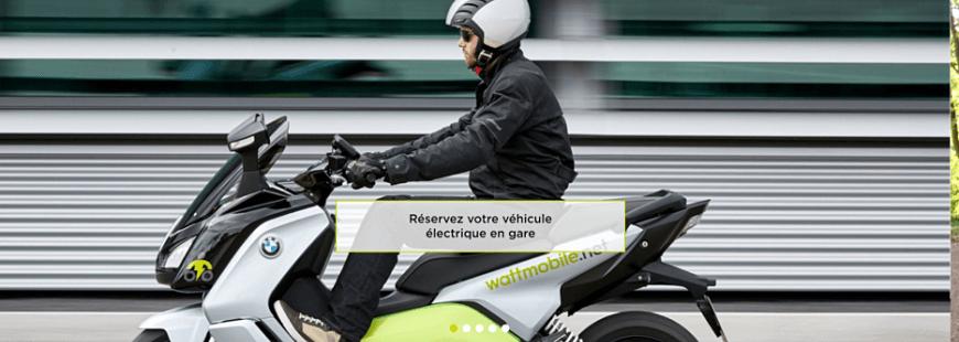 Découvrez le scooter électrique BMW C Evolution