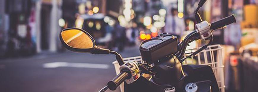 Attention à la manière dont vous garez votre deux-roues dans la rue !