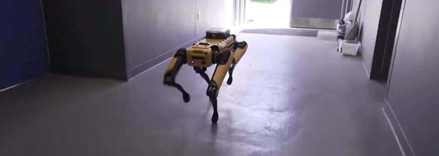 En 2019, Boston Dynamics commercialisera un chien robot