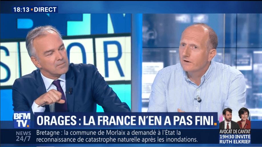 Stanislas di Vittorio interviewé par BFM TV
