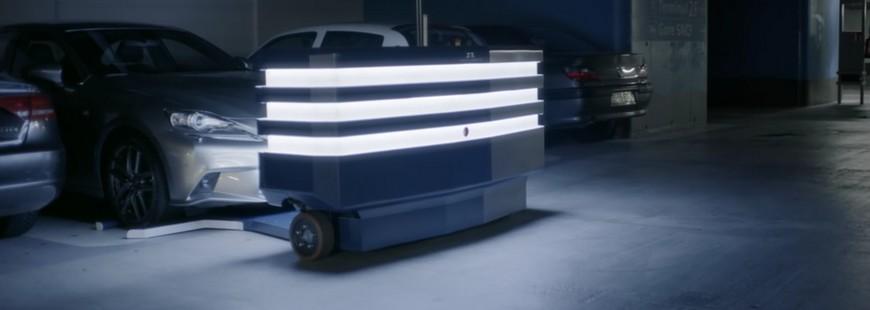 Le robot Stan aide à gagner du temps et de l'espace dans les parkings
