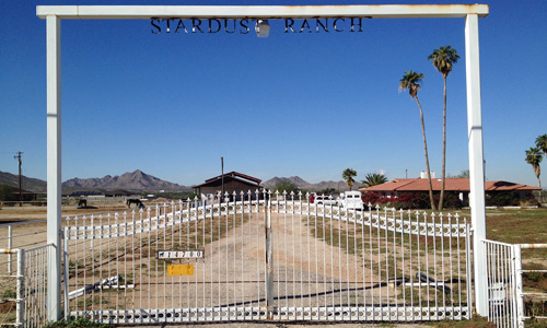 Photo de l'entrée du Stardust Ranch