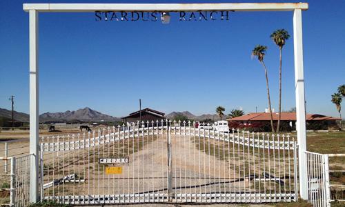 Photo de l'entrée du Stardust Ranch