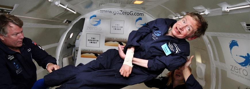 Stephen Hawking souffrait d'une maladie dégénérative paralysante, la maladie de Charcot