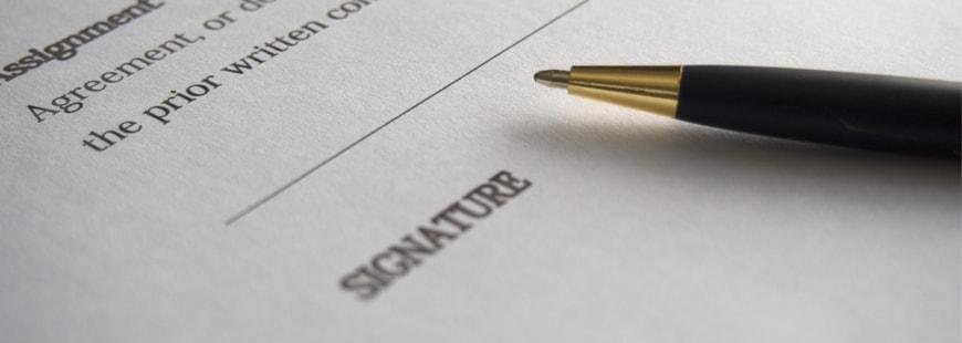 stylo-contrat
