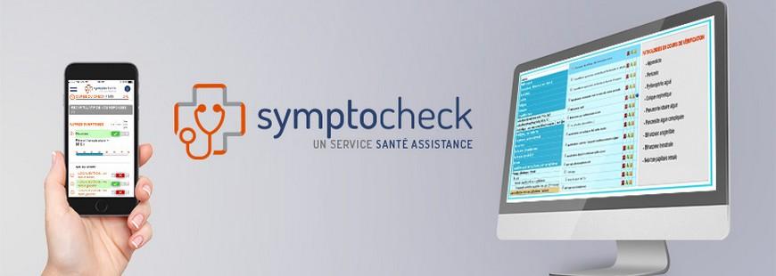 Une application qui vous permet d'évaluer vos symptômes