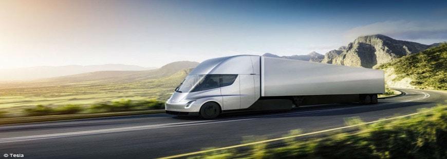 Le Tesla Semi aura une autonomie de 800 km