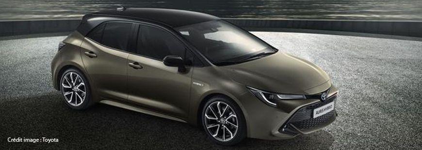 La Toyota Auris Hybride émet 79 g/km de CO2