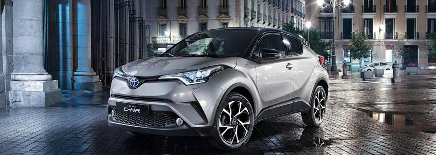 Le C-HR porte les ventes hybrides de Toyota en 2017