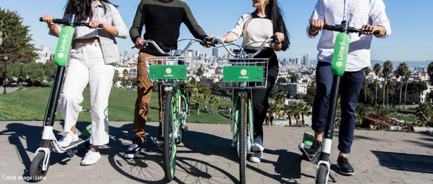 Les trottinettes électriques Lime débarquent à Paris