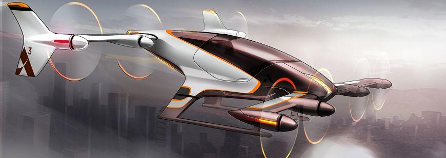La futur voiture volante ressemble plus à un hélico !