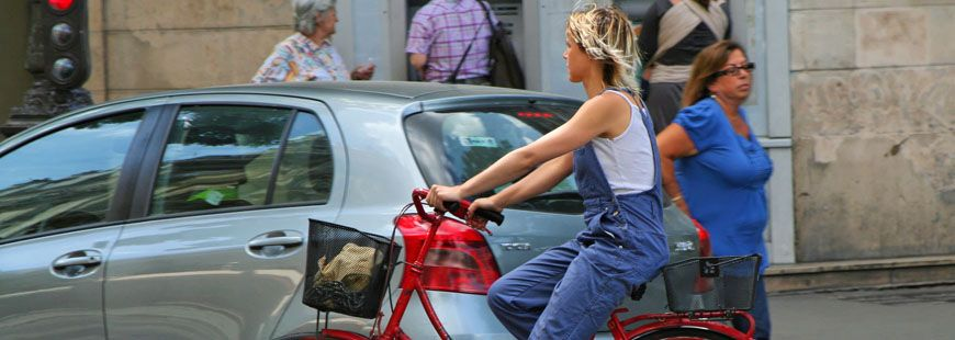 Les cyclistes doivent respecter le Code de la route