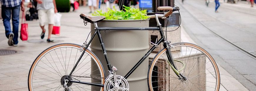 Mal stationné son vélo est passible d'une amende
