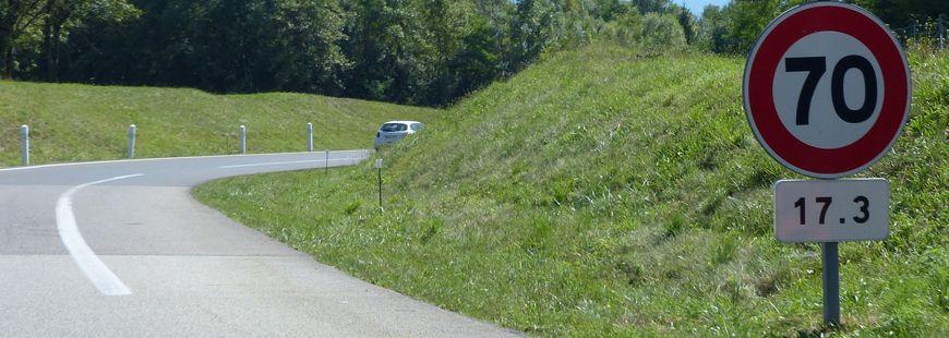 """Pour Jean-Marie Bernard, """"les limitations à 70 km/h n'ont plus de sens"""""""