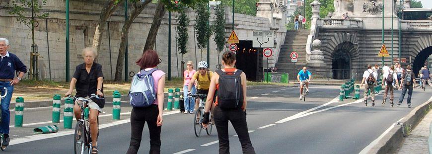 Anne Hidalgo évoque la fermeture des voies sur berge comme une mesure salutaire pour les Parisiens