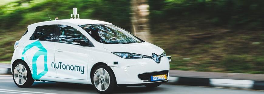 À Singapour les premiers véhicules autonomes roulent déjà