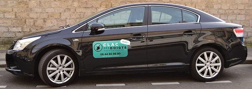 Gagnez des cadeaux et de l'argent en collant des stickers sur votre véhicule