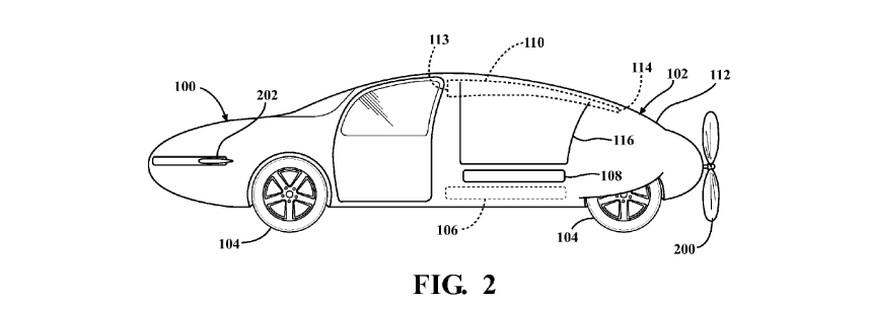 Toyota développe un projet de voiture volante