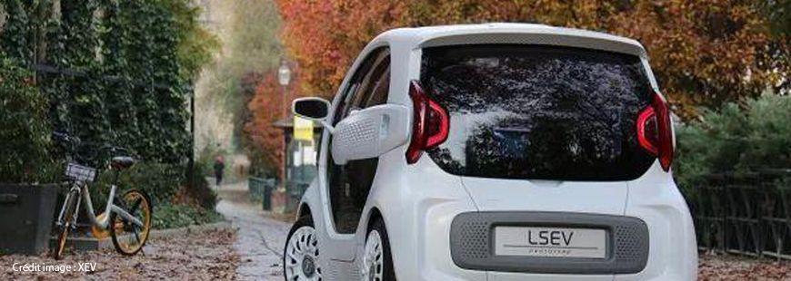 La LSEV est fabriquée par X Electrical Vehicle (XEV)