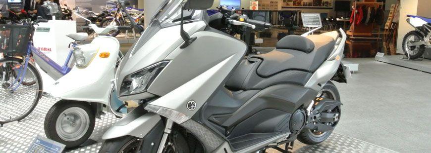 Le scooter Yamaha T-Max a été le deux-roues le plus volé en France en 2017